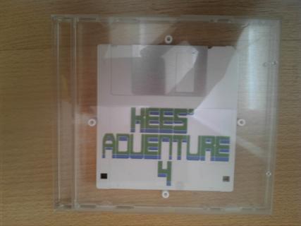 Floppy disk in jewelcase