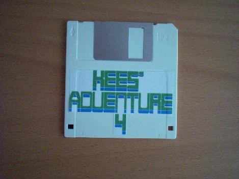 Kees' Adventure 4 on floppy diskette