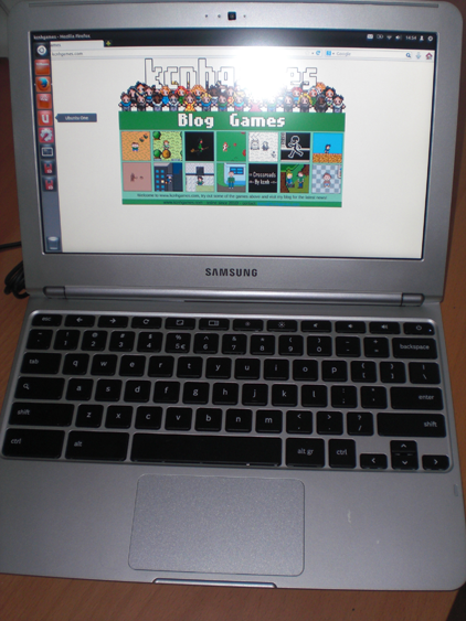 Ubuntu on a Samsung Chromebook