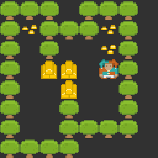 A quick Sokoban style game I have been working on today.